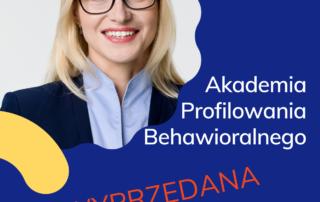 Akademia Profilowania Behawioralnego_Diana Nowek_Wyprzedana